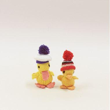 Obrázek z velikonoční kuřata