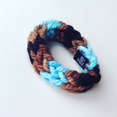 Picture of knitted bracelet